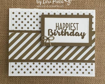 Stampin' Up! Happy Birthday Card