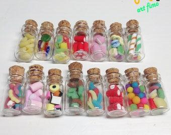 Mini sweet bottles