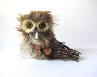 Textural Owl