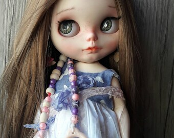 Price! Nina treats... ooak fat xxl custom Blythe doll. Little Darling