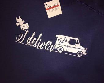 I Deliver - Mail Carrier Gildan UltraCotton T-shirt