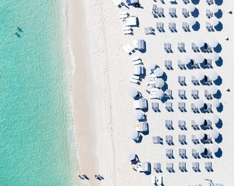 Miami Beach - Grey II - Aerial Beach Photography