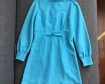 Robins egg blue 1960's dress.