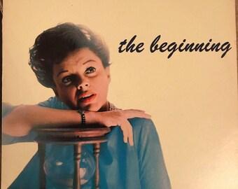 Judy Garland - The Beginning Vinyl LP Gatefold - Condition is NM/VG+