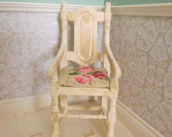 doll house furniture, miniature furniture, 12th scale furniture, miniature chair, 12th scale chair, miniatures