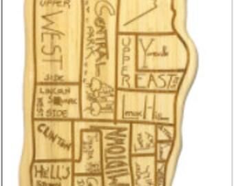 Manhattan Engraved Cutting Board