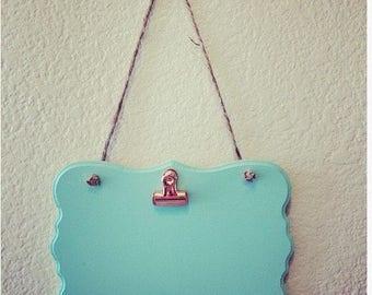 Mint & Copper Photo Hanger