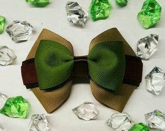 Yoda-inspired mini bow