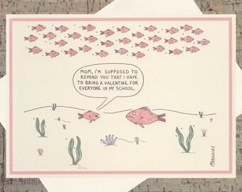 Cute Valentine Card, Mother Valentine Card, Funny Valentine Card, Parenting Card, Valentines Day, Quirky Valentine, Happy Valentines Day
