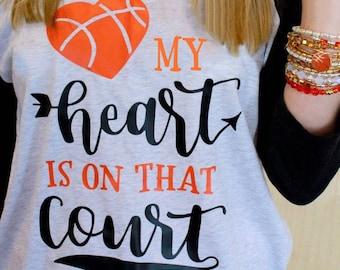 Basketball Mom Shirt - Mom Baseball Tee - Basketball Mom Tee - Womens Baseball Tee - Basketball Mom Tshirt - Womens Basketball Shirt - Tee