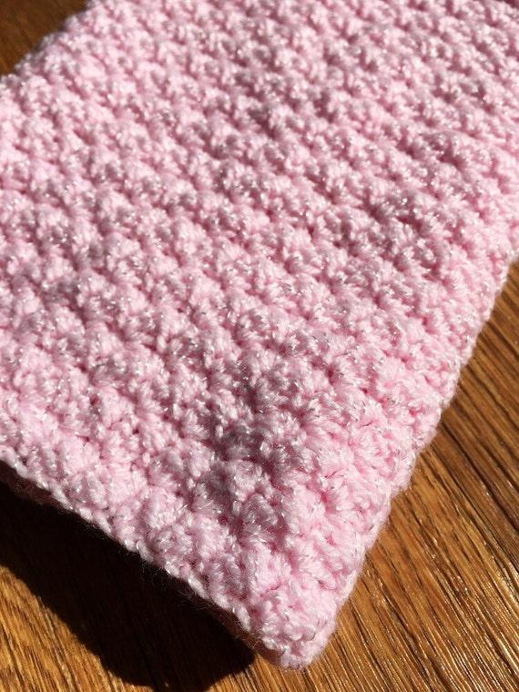 Crochet Gentle Puff Stitch Baby Blanket Pattern