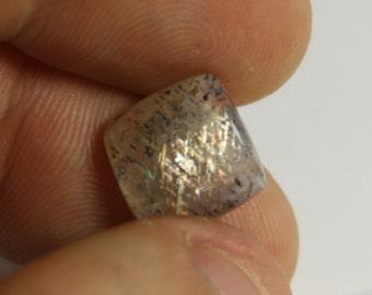 Rainbow Lattice Sunstone/cabochon/designer cab/ australian crystal/free form cab/lattice/gemstone/gemstone cabochon/rainbow stone/sunstone