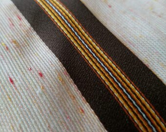 Vintage striped necktie