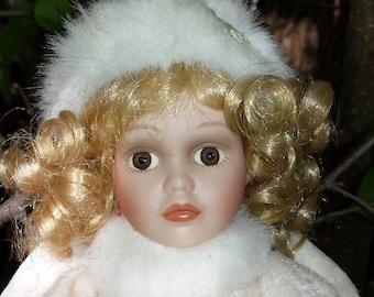 Haunted Doll Story w / porcelain doll Gracelyn  Age 24