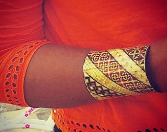 African Unique cuff bracelet