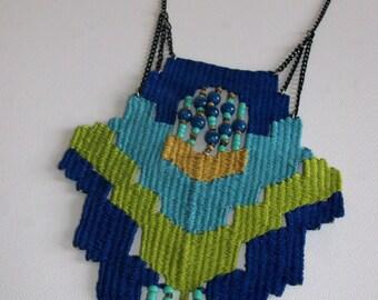 Mple geometric- woven jewelry