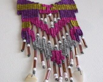 Roz navajo kilimaki- woven jewelry