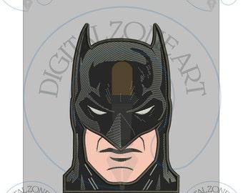 Batman Applique Design-Marvel-Super Hero-Comics- Machine Embroidery Designs - INSTANT DOWNLOAD