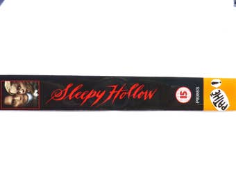 Sleepy Hollow handmade BOOKMARK [Tim Burton, Johnny Depp]