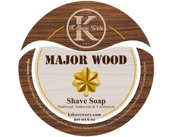 Major Wood Shave Soap