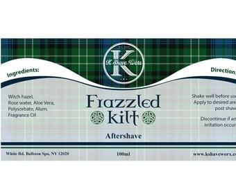 Frazzled Kilt Aftershave