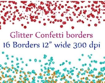 Glitter clipart | Etsy