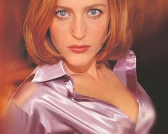 Gillian Anderson The X Files Rare Vintage Poster