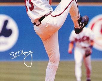 Steve Avery Atlanta Braves 1992  Poster
