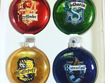 Hogwarts Harry Potter House Ornaments