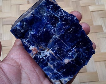 230 Gram Natural Blue Common Opal Rough Indonesia