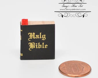 1:12 Dollhouse Miniature Bible/ Miniature Book DL 2307-20