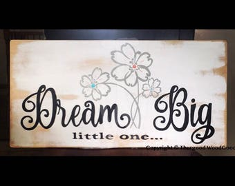 12x24 Hand Painted Wooden Sign