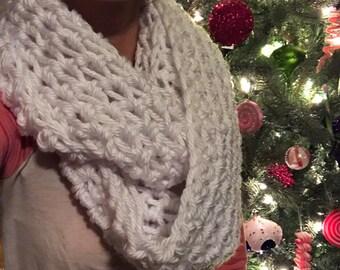 Infinity Scarf, Crochet, Scarf, Cozy, Matching Scarf