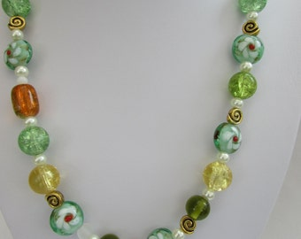 Gorgeous Glass Bead necklace