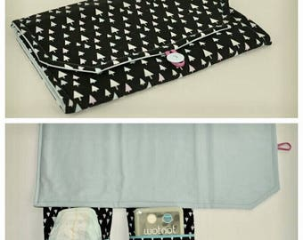 Nappy Changemat Clutch/Wallet - Made to Order!