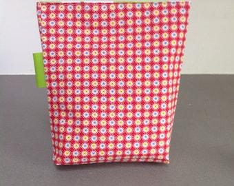 Reusable sandwich bag/Apple