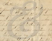 1869 Battle Ground Letter to Brother-in-law Digital Download Ephemera
