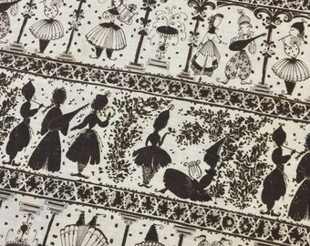 Black Fabric. European Fabric. FQ. White Fabric Quilting Cotton. Theatre Fabric. Renaissance Fabric. Genie Fabric. Musical Fabric.