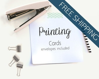 Printing Services // Card Printing