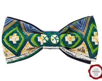 Bow Tie - African geometric pattern