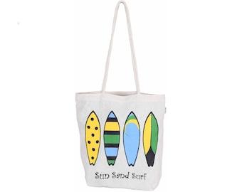 UKANA Cotton eco friendly Reusable Shopping Grocery Tote Bag