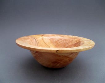 Curly Maple bowl # 564