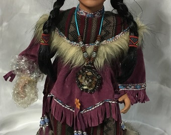 Native American Doll by Cathay Collections No. 601 of 5,000.