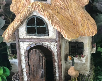 Miniature Fairy House - Cotswold Cottage