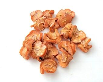 Pet rabbit treats, dried organic carrot treats, 100% dehydrated carrot, pet bunny treats