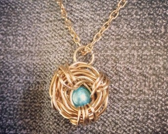 Customizable Mama Birdnest Necklace
