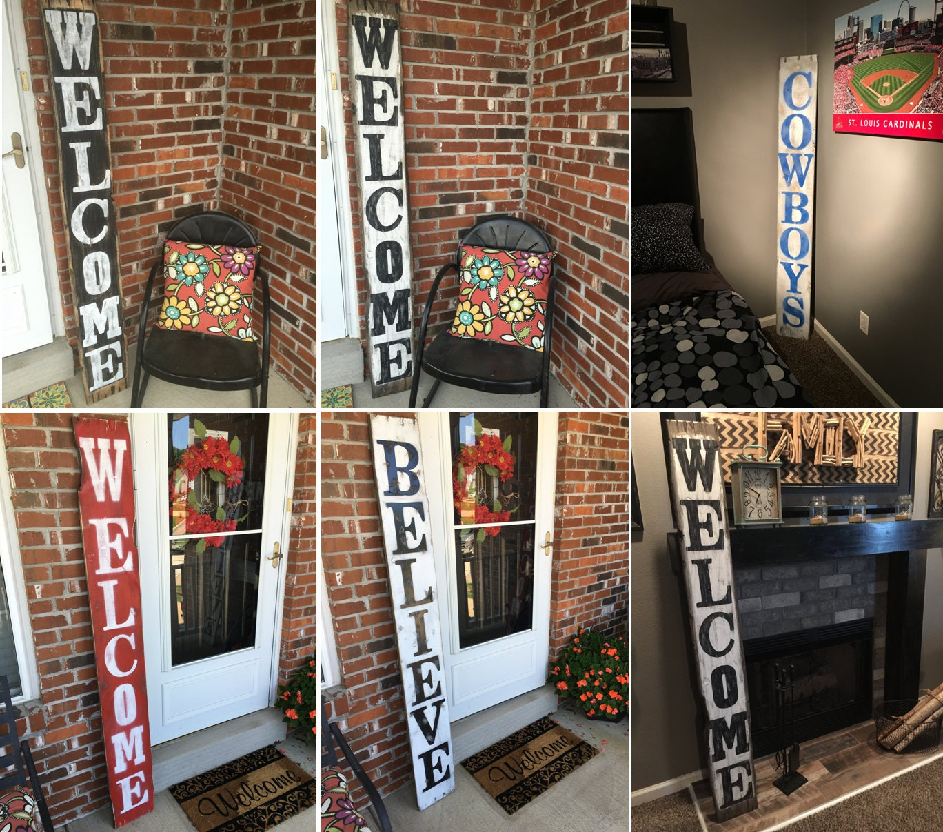 Rustic welcome sign outdoor welcome decor welcome wood sign front door welcome decor 1 rubansaba