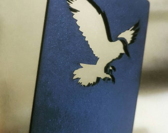 The raven boys laser cut bookmark