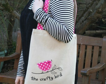 The Crafty Bird Tote Bag Sewing Kit