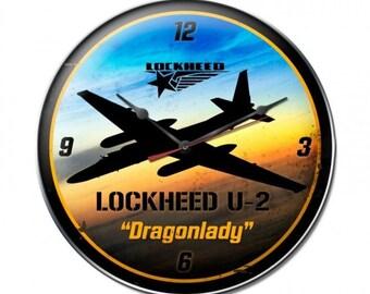 U2 Dragon Lady Clock